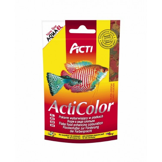 POKARM AQUAEL COLOR 10 G SASZETKA