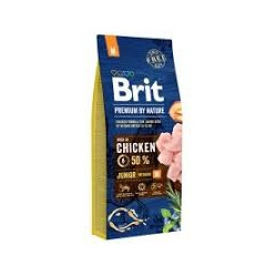 BRIT PREMIUM BY NATURE JUNIOR M 3 kg