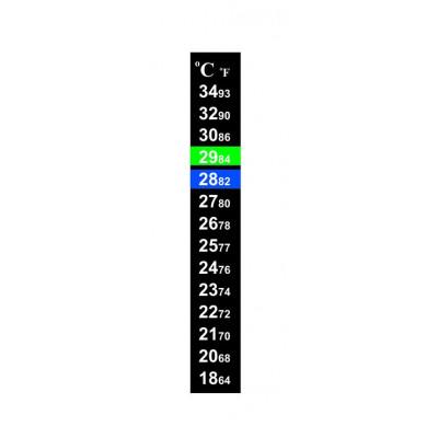 TERMOMETR AKWARIOWY NAKLEJANY T9