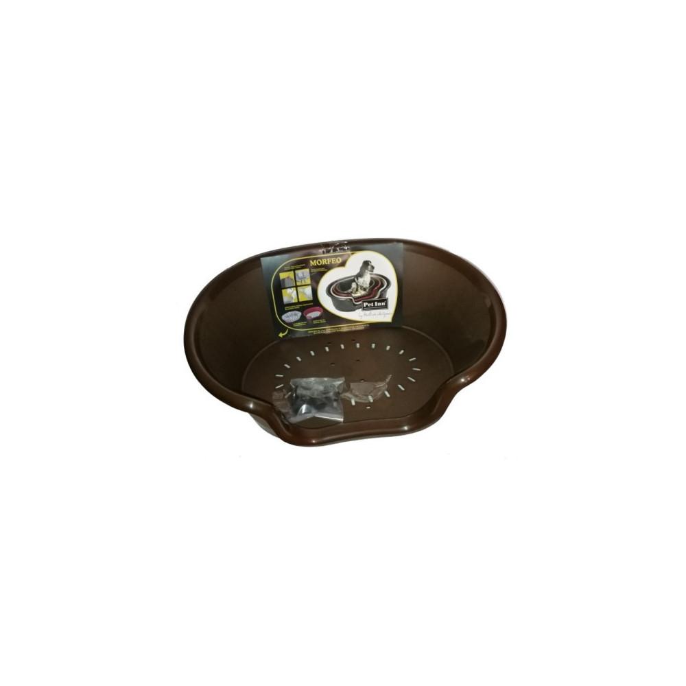 PI LEGOWISKO MORFEO 4 90X62X27,5CM brąz