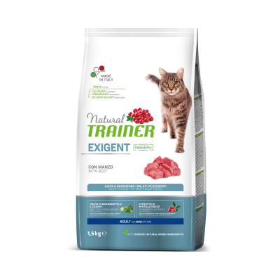 TRAINER NATURAL CAT EXIGENT 1,5 KG