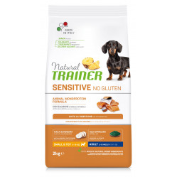 TRAINER SENSITIVE NO GLUTEN ADULT MINI SALMON 2 kg