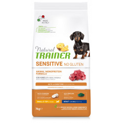 TRAINER SENSITIVE DOG NO GLUTEN ADULT MINI LAMB 7 kg