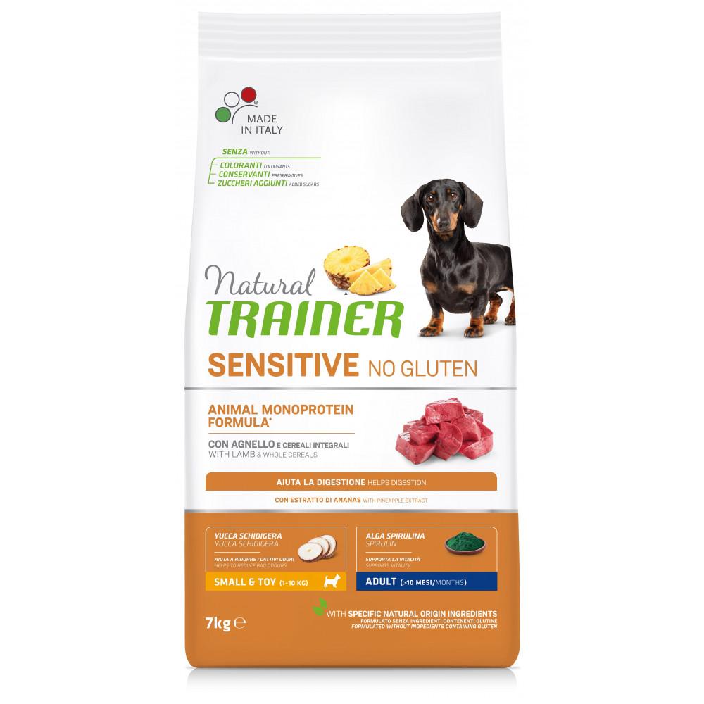 TRAINER SENSITIVE DOG NO GLUTEN ADULT MINI LAMB 7 kg