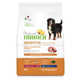 TRAINER FITNESS 3 ADULT MEDIUM&MAXI DUCK & RICE & OIL 3 KG