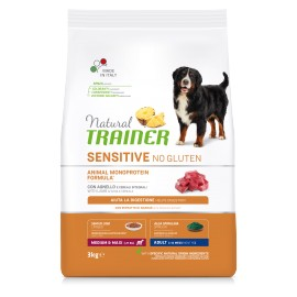 TRAINER SENSITIVE NO GLUTEN ADULT M/M LAMB 3 kg