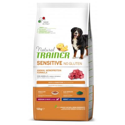 TRAINER SENSITIVE DOG NO GLUTEN ADULT M/M LAMB 12 kg