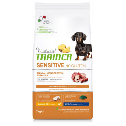 TRAINER SENSITIVE DOG NO GLUTEN ADULT MINI DUCK 7 kg