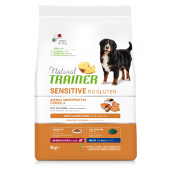 TRAINER SENSITIVE NO GLUTEN ADULT M/M SALMON 3 kg