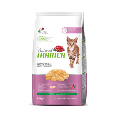 TRAINER NATURAL CAT YOUNG 1,5 KG