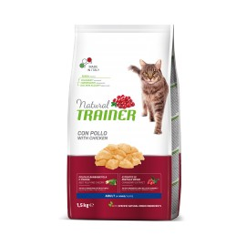 TRAINER NATURAL CAT ADULT FRESH CHICKEN 1,5 KG