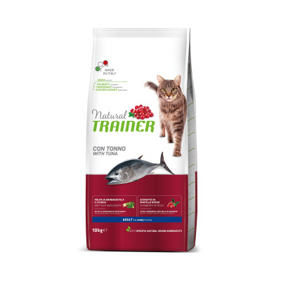TRAINER NATURAL CAT TUŃCZYK  10 KG