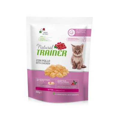 TRAINER NATURAL CAT KITTEN CHICKEN 300 G