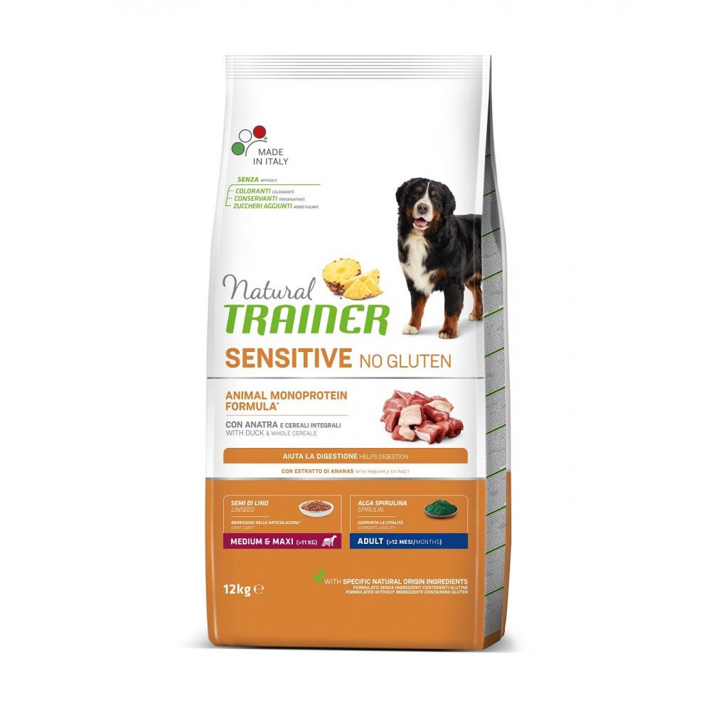 TRAINER SENSITIVE NO GLUTEN ADULT M/M DUCK 12 kg