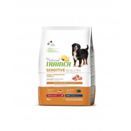 TRAINER SENSITIVE NO GLUTEN ADULT M/M PORK  3 kg
