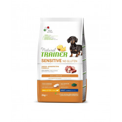 TRAINER SENSITIVE DOG NO GLUTEN ADULT MINI DUCK 2 kg
