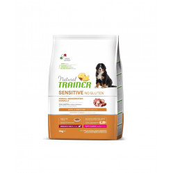 TRAINER SENSITIVE NO GLUTEN PUPPY&JUNIOR M/M DUCK 12 kg