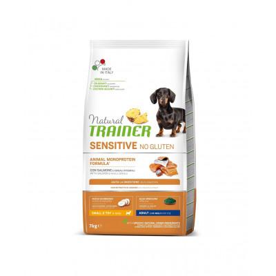 TRAINER SENSITIVE NO GLUTEN ADULT MINI SALMON 7 kg