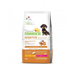 TRAINER SENSITIVE NO GLUTEN PUPPY&JUNIOR MINI SALMON 2 kg