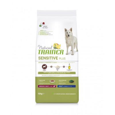 TRAINER SENSITIVE PLUS NO GLUTEN ADULT M/M HORSE 12 kg