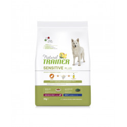 TRAINER SENSITIVE PLUS NO GLUTEN ADULT M/M RABBIT 3 kg