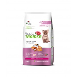 TRAINER NATURAL CAT KITTEN SALMON 1,5 kg