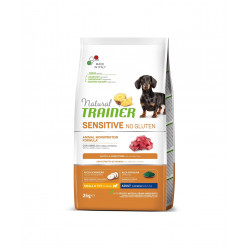 TRAINER SENSITIVE DOG NO GLUTEN ADULT MINI LAMB 2 kg
