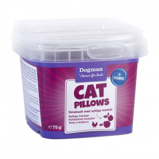 DOGMAN KOT BOX CAT PILLOW...