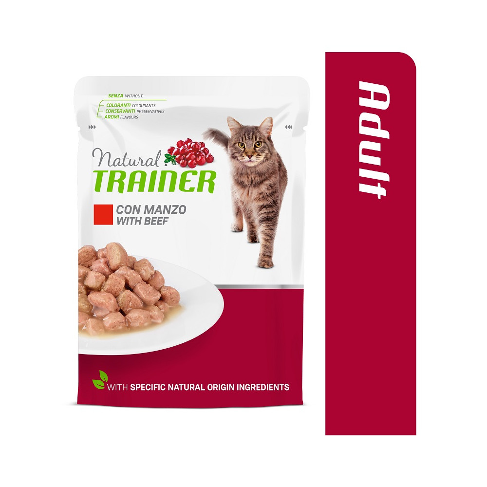 TRAINER CAT ADULT BEEF 85 g