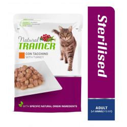 TRAINER CAT ADULT STERILISED TURKEY 85 g
