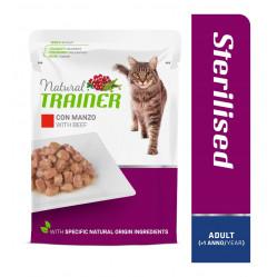 TRAINER CAT ADULT STERILISED BEEF 85 g