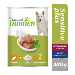 TRAINER DOG SENSITIVE PLUS MEDIUM&MAXI RABBIT-RICE-OIL 400 g