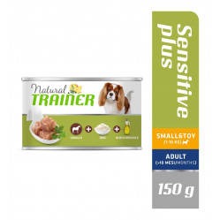 TRAINER DOG SENSITIVE PLUS SMALL&TOY HORSE-RICE-OIL 150 g