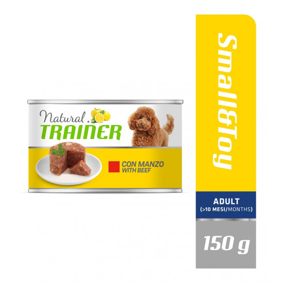 TRAINER DOG MAINTENANCE SMALL&TOY BEEF 150 g