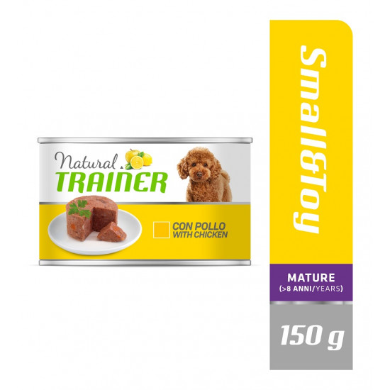 TRAINER DOG MAINTENANCE SMALL&TOY MATURE CHICKEN 150 g