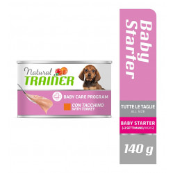 TRAINER DOG MAINTENANCE BABY STARTER ALL SIZE TURKEY 140 g