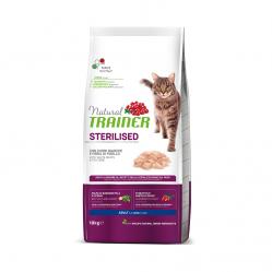 TRAINER NATURAL CAT STERILISED FRESH WHITE MEATS 10 kg