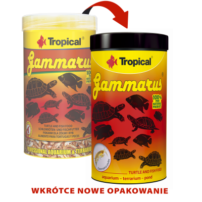 TROPICAL GAMMARUS 1000ML/120G