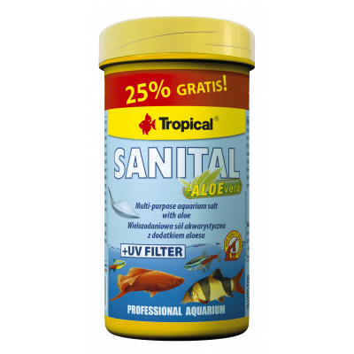 TROPICAL SANITAL + ALOEVERA 100ML/120G