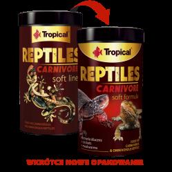 TROPICAL REPTILES CARNIVORE SOFT 250ML/65G