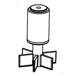 AQUAEL WIRNIK FAN-1/PFN/TURBO/CIR. 350 KOMPLET