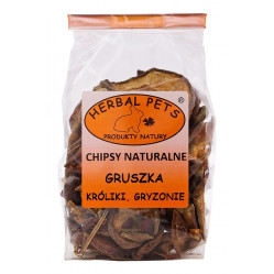 HERBAL PETS CHIPSY NATURALNE – GRUSZKA 75G