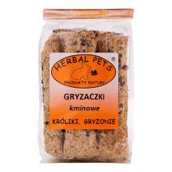 HERBAL PETS GRYZACZKI KMINOWE 160G