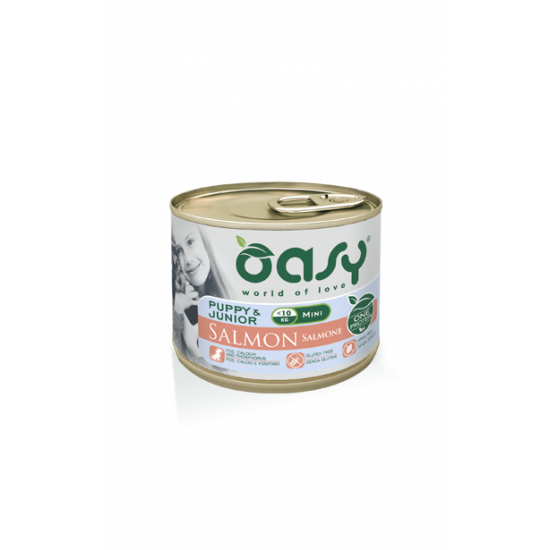 OASY ONE PUPPY - MINI -  ŁOSOŚ PIES 200G