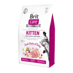 BRIT CARE CAT GRAIN FREE KITTEN 2 KG
