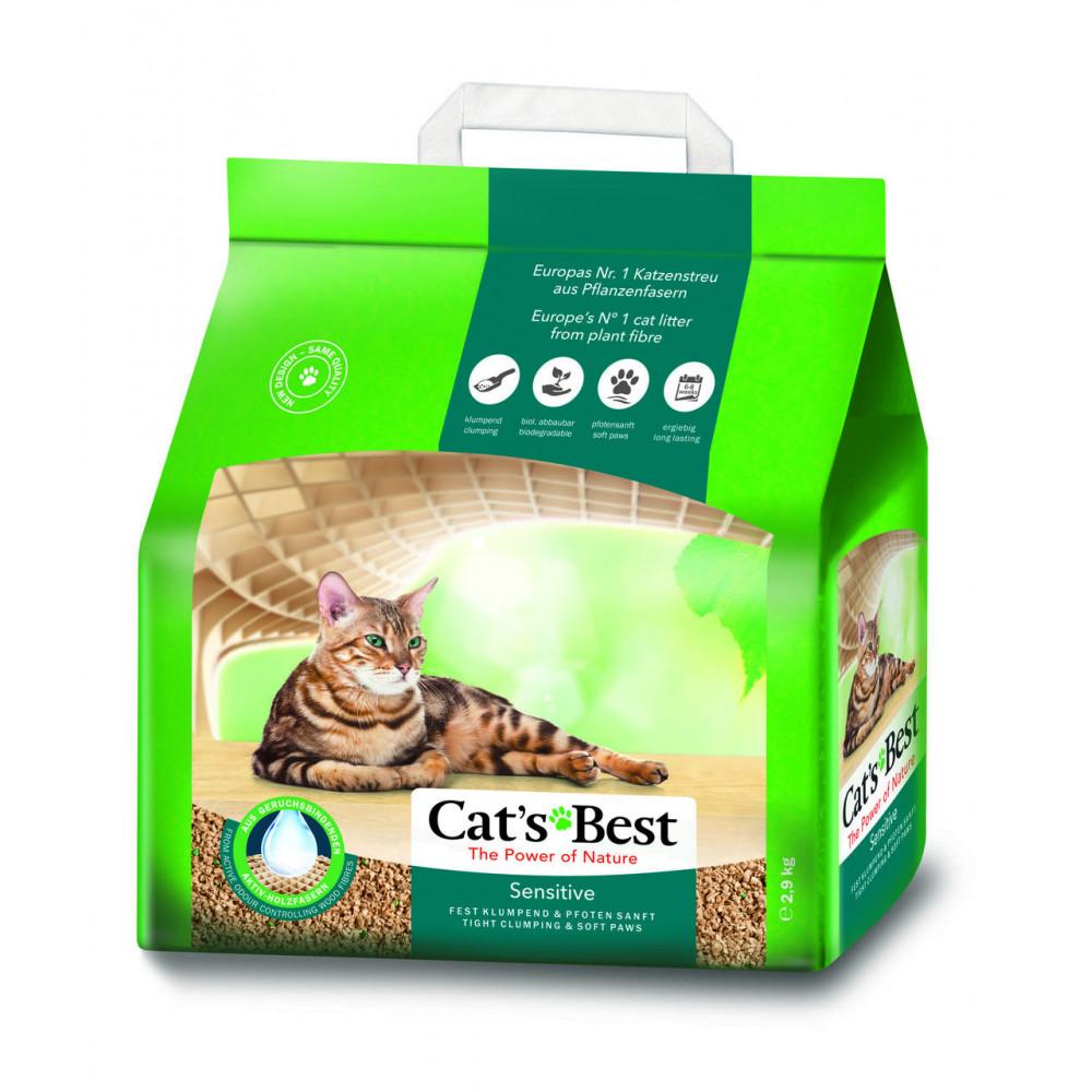 CAT'S BEST SENSITIVE 8L ZBRYLAJĄCY