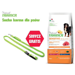 TRAINER SENSITIVE DOG NO GLUTEN ADULT M/M LAMB 12 kg + SMYCZ GRATIS
