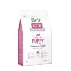 BRIT CARE GRAIN-FREE PUPPY SALMON&POTATO 3KG