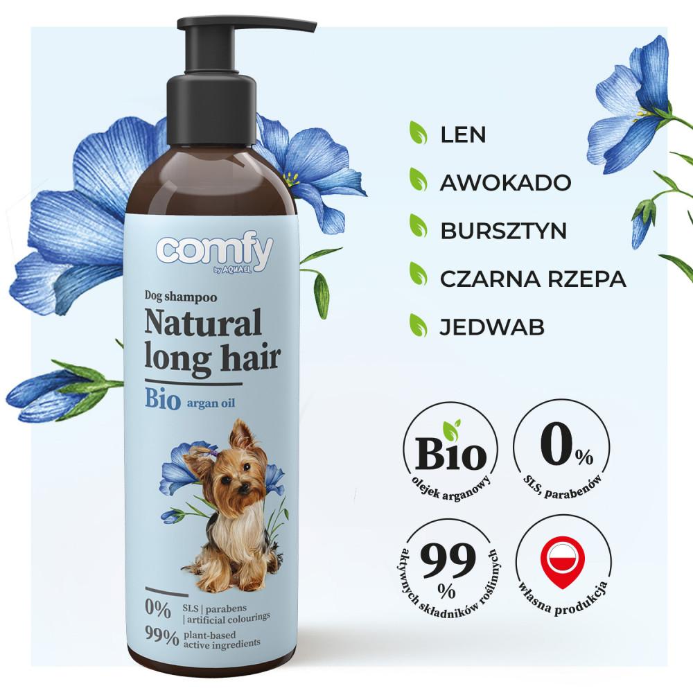 COMFY SZAMPON NATURAL LONG HAIR 250ML