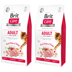 BRIT CARE CAT GRAIN-FREE ADULT ACTIVITY SUPPORT 2 x 7KG